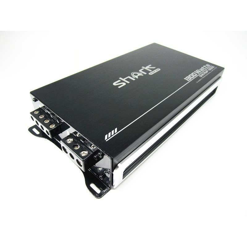 SHARK SHKAMP1300D 1000W SLIM DESIGN MONO MOSFET CAR AUDIO PROFESSIONAL SUPER THIN CAR TRUCK VAN AMPLIFIER