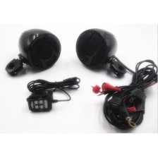 SHARK Die-casting Amplified Motorcycle Speaker 3.0 inch Waterproof Speaker