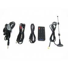 Wired Remote controller power cord audio wire wireless remote antenna