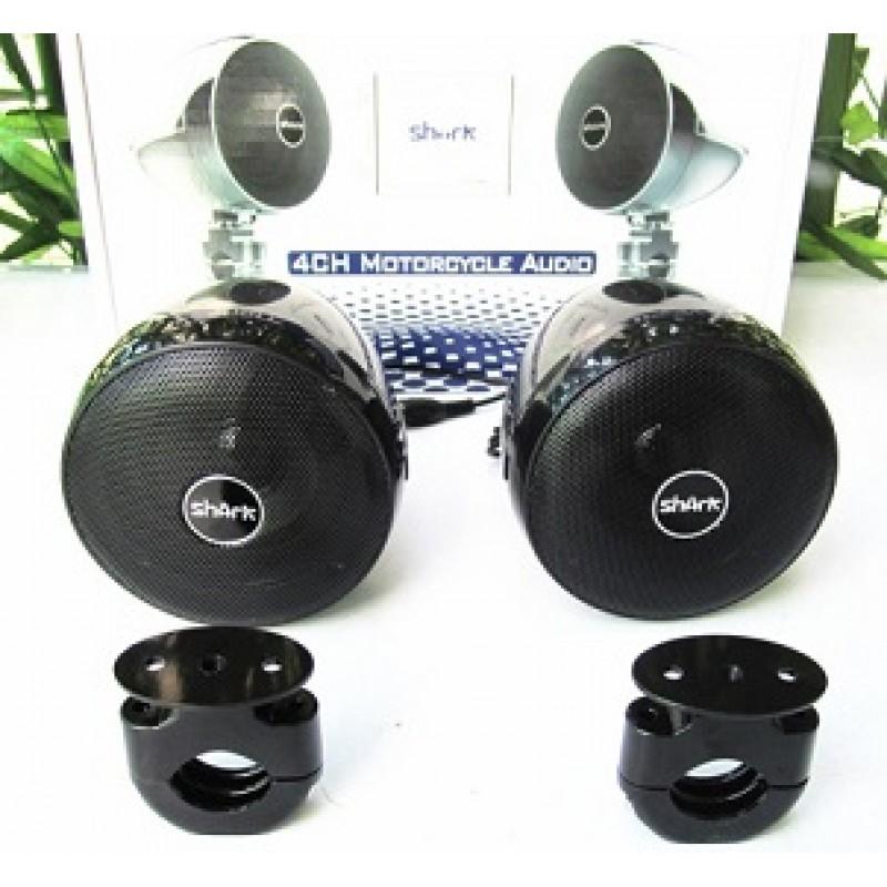 SHARK Mesh Cover 3.0 Inch Motorcycle Speaker UTV ATV