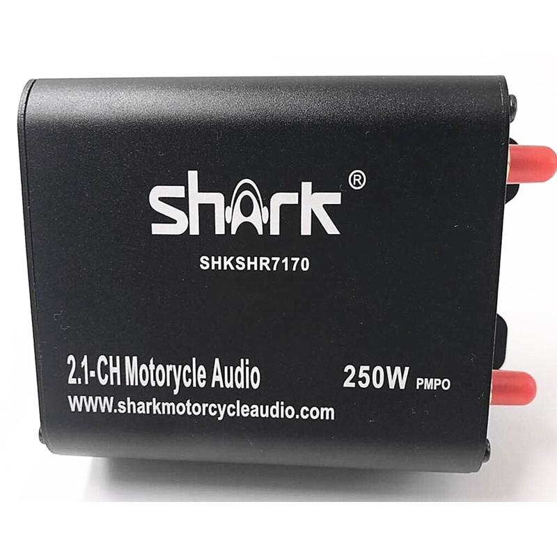 Shark 2.1ch 250w Bluetooth Amplifier with FM, USB, SD, Aux in SHKSHR7170B
